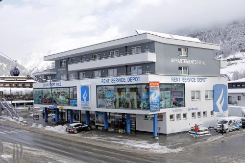. Appartement Sporthütte Fiegl