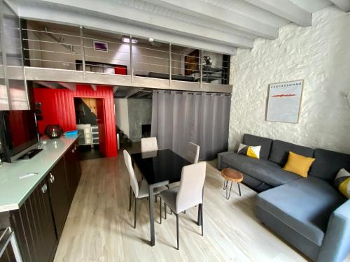 La Maison d'Alix, à l'intérieur de la Cité médiévale! - Location saisonnière - Carcassonne