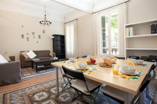 Modernist Apartment Barcelona impression