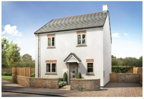 New 3 Bedroom Detached House In Trevena Tintagel, Tintagel, Cornwall