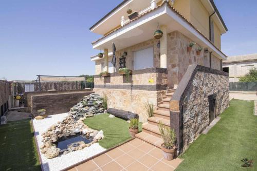 . Casa con piscina y barbacoa San Esteban de Gormaz