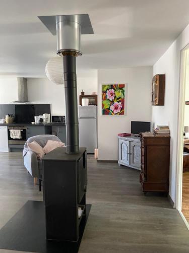 Le petit Monrepos avec jacuzzi nordique - Apartment - Bielle
