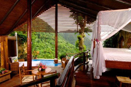 Gros Piton Suite with plunge pool