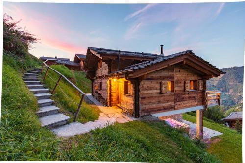Fabulous Luxury Spa Chalet w. Jacuzzi Sauna - La Tzoumaz