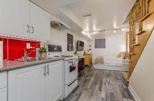 Cozy basement bachelor apartment