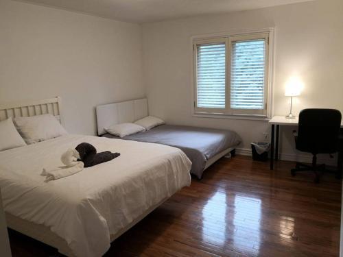 A spaciouse quadruple room