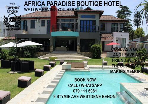 . Africa Paradise - OR Tambo Airport Boutique Hotel
