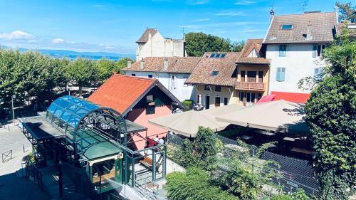 La rose du Funiculaire - Location saisonnière - Thonon-les-Bains