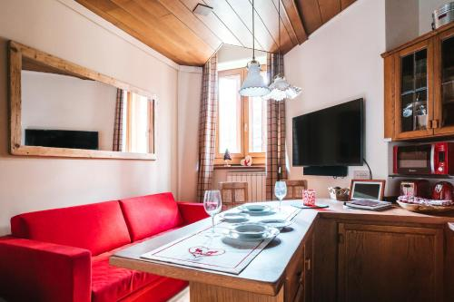 THE NEST Apartment Suite Ski-in Ski-out with Hammam Breuil Cervinia