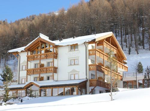 Waldpark Hotel Garni Samnaun