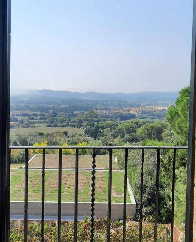 Classic Double Room with Pool View  Mas Ses Vinyes 20
