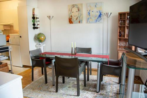 Lovely 1.5 room apartment with patio