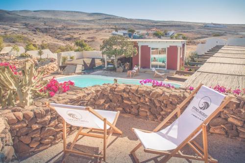Gartenappertement - Tierra - Surf & Yoga Villa