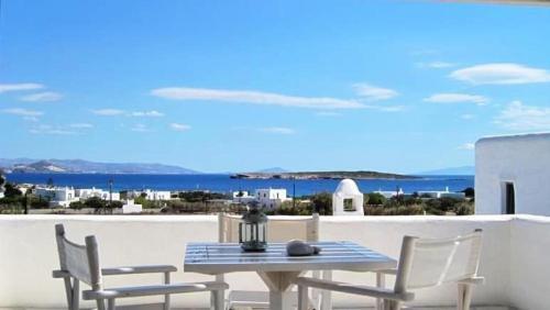 Sea View Paros Apartment Deluxe Residence with Sea View 2 BDR Santa Maria