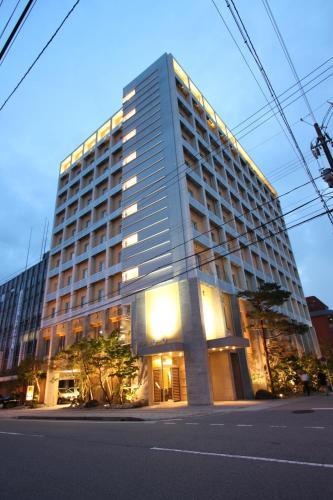 魚津門通站前酒店 Uozu Manten Hotel Ekimae