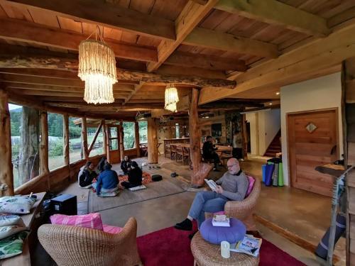 Pu Am Eco Lodge - Accommodation - Curarrehue