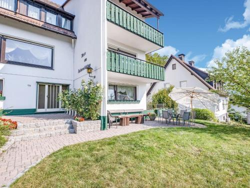 . Large holiday apartment near Willingen with private garden and terrace