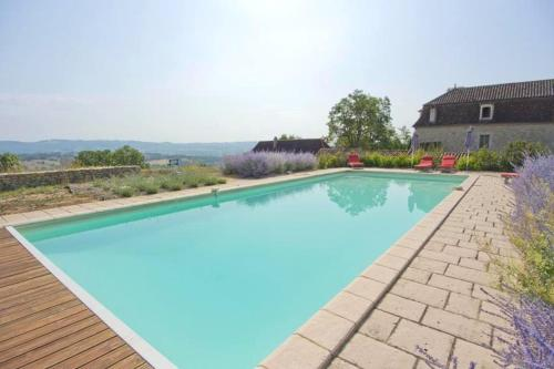 . House with 5 bedrooms in Fons with wonderful mountain view private pool furnished garden