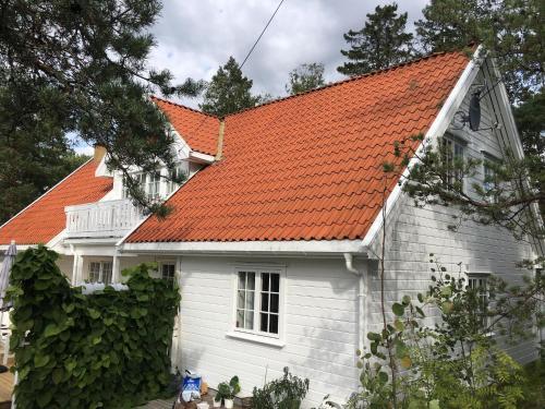 Leilighet i Sørlandshus i Son - Sjøutsikt - Nær Son Spa - Hotel - Son