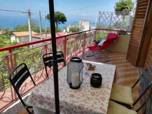 Apartment with one bedroom in Vico Equense with wonderful sea view