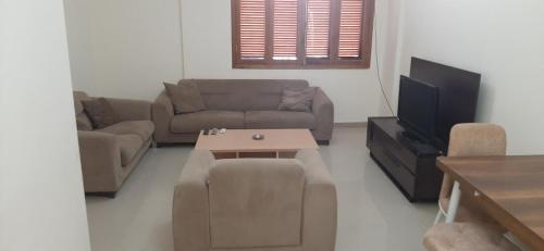 Furnished apartments, sauna, massage and diving center