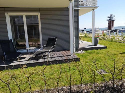 . 2 Zimmerapartment 2 Terrassen P7a1