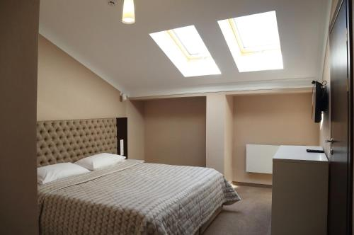 Deluxe Family Room in Attic with Spa Access