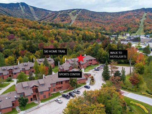 Trail Creek: Walk to lifts, ski home! Closest unit to lifts, ski home trail, sports center - Apartment - Killington