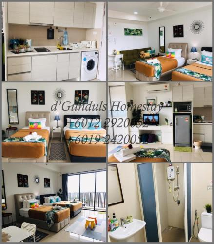 Studio I-Soho D'Gunduls Homestay by DGH I-CITY