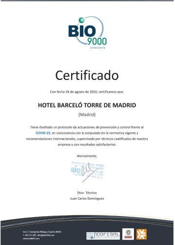 Barceló Torre Madrid - Hotel