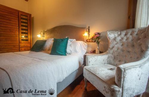 Double or Twin Room Casa de Lema 1