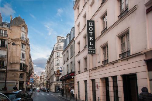 Hôtel des Deux Avenues impression