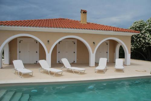 Luxury Zante Villa Zante Vista Villa Private Pool Seaviews Agios Sostis