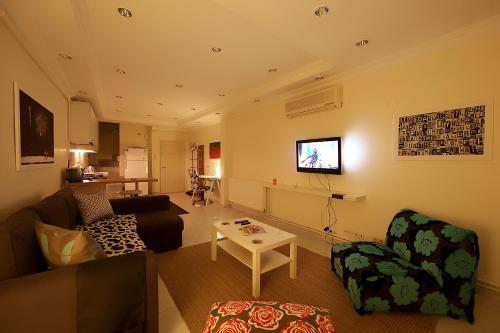 Istanbul Kentish Studio odalar