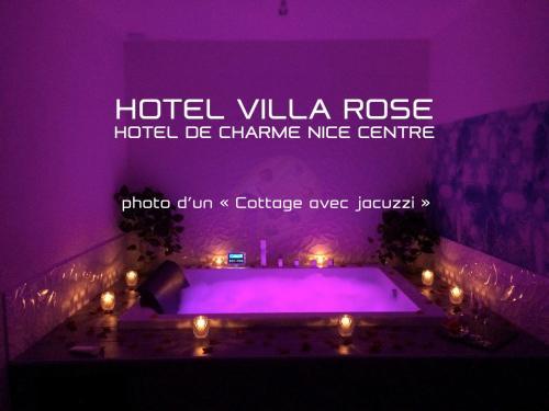 Hotel Villa Rose - Hôtel - Nice