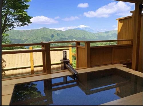 富士山芦ノ湖絶景と温泉宿 七福荘別邸 Mt Fuji View & Onsen Vacation Home 2BR