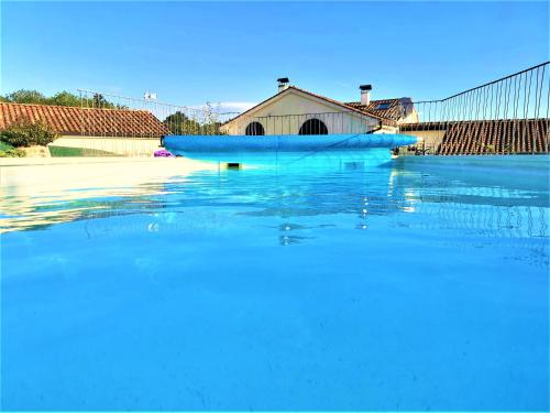 . Beautifully renovated old stone house with large private outdoor pool