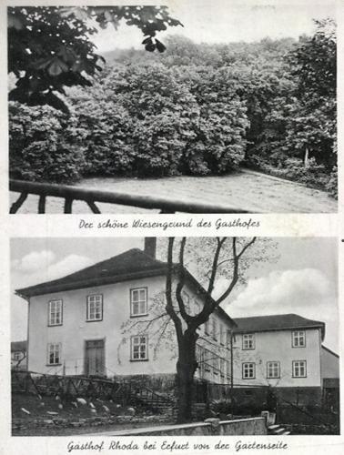Rhodaer Grund Hotel Erfurt In Germany