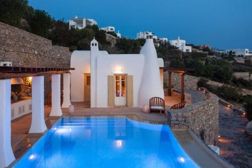 Excellent Mykonos Villa Villa Apollonia 3 Bedrooms Stunning Sea Views Psarrou