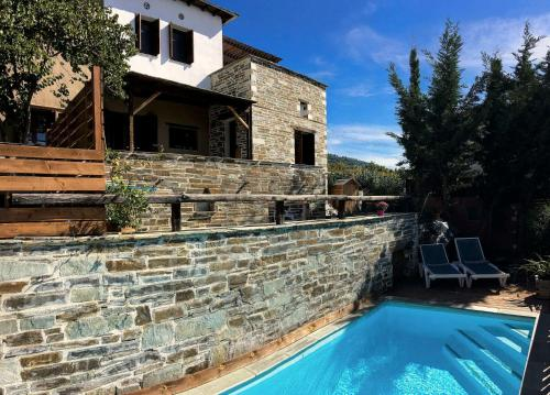 Great Pelion Villa Villa Iris 4 bedrooms Private Pool Aghios Georgios - Accommodation - Pilion
