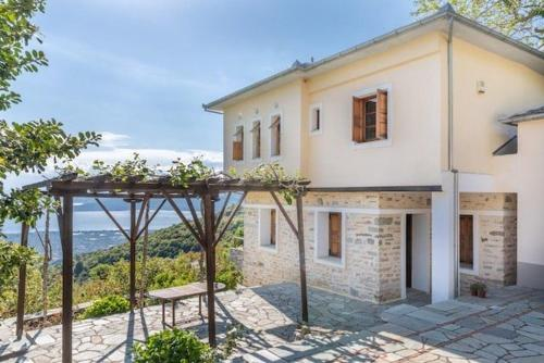 Great Pelion Villa Villa Giolena 4 bedrooms Sea View Aghios Georgios - Accommodation - Pilion