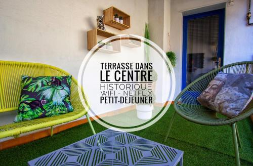 La terrasse d'Ingres - Location saisonnière - Montauban