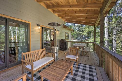 Treetop Cabin with Hot Tub, Near Appalachian Ski - Hotel - Blowing Rock