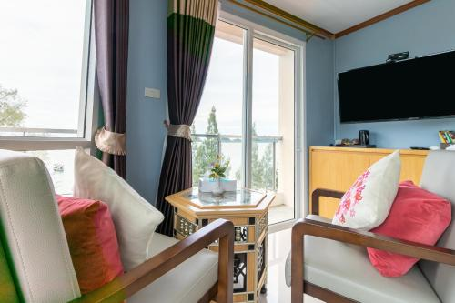 Chambre Double Deluxe - Vue sur Mer (Deluxe Double Room with Sea View)