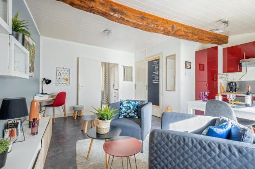 Maison d'une chambre a Libourne avec magnifique vue sur la ville jardin clos et WiFi - Location saisonnière - Libourne