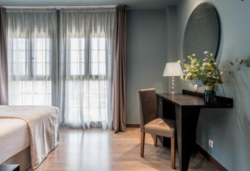 Habitación Doble Pamplona Catedral Hotel 22