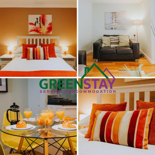 . The Garden Apartment Newquay by Greenstay Serviced Accommodation - 2 Bedroom Apartment Close To Beaches with Free Parking, Netflix , Wi-Fi - Pets Allowed
