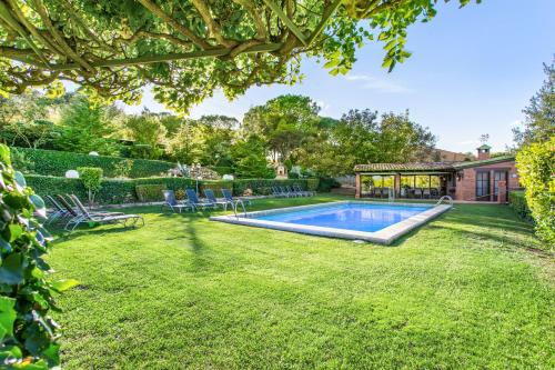 Villa with 7 bedrooms in Capellades Barcelona with wonderful mountain view private pool furnished garden