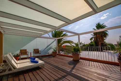 Double Room with Sea View Hotel Tancat de Codorniu 3