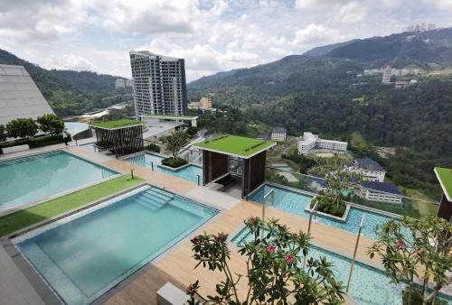 Cozy 2 Rooms 6 pax @ Genting Windmill Upon Hill, Bentong